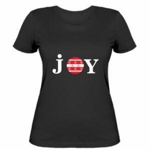 Damska koszulka Joy