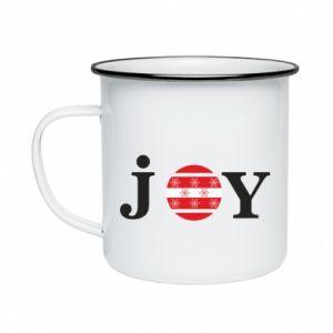 Kubek emaliowany Joy