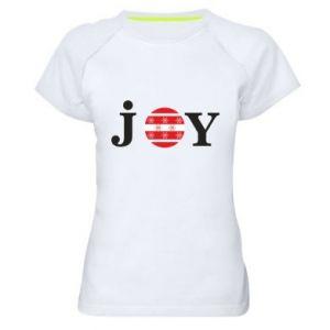 Koszulka sportowa damska Joy
