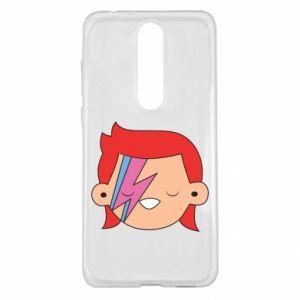 Etui na Nokia 5.1 Plus Joyful David Bowie