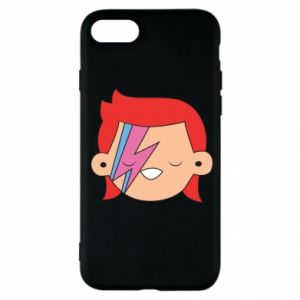 Etui na iPhone SE 2020 Joyful David Bowie