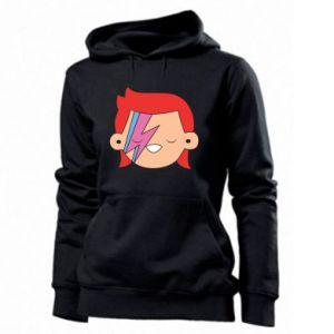 Women's hoodies Joyful David Bowie - PrintSalon