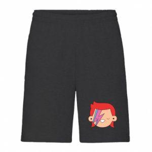 Men's shorts Joyful David Bowie - PrintSalon