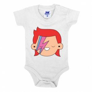Baby bodysuit Joyful David Bowie - PrintSalon