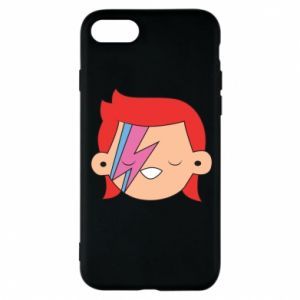 Phone case for iPhone 8 Joyful David Bowie
