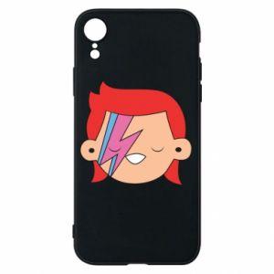 Etui na iPhone XR Joyful David Bowie