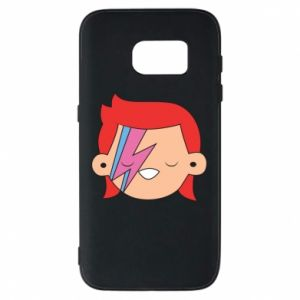Etui na Samsung S7 Joyful David Bowie