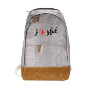Urban backpack Joyful