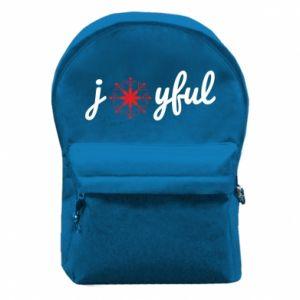 Plecak z przednią kieszenią Joyful