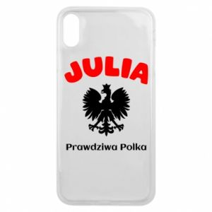Phone case for iPhone 7 Plus Julia is a real Pole - PrintSalon