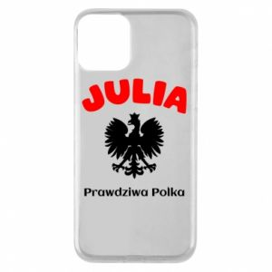 Phone case for iPhone 8 Julia is a real Pole - PrintSalon