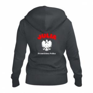 Damska bluza na zamek Julia jest prawdziwą Polką