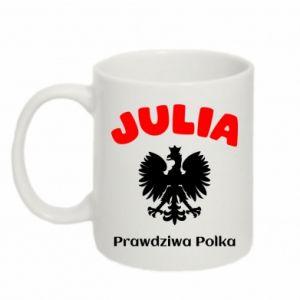 Kubek 330ml Julia jest prawdziwą Polką