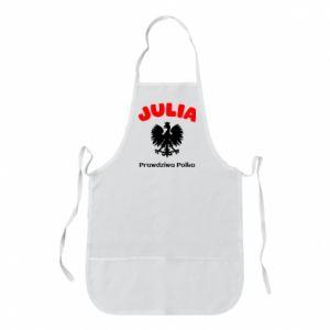 Fartuch Julia jest prawdziwą Polką