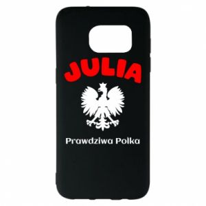 Phone case for Samsung A30 Julia is a real Pole - PrintSalon