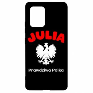 Phone case for Samsung A40 Julia is a real Pole - PrintSalon