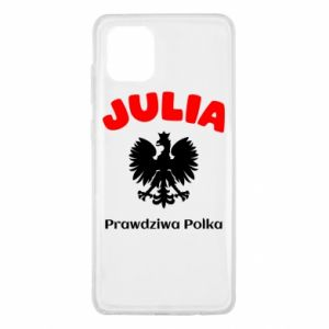 Phone case for Samsung A60 Julia is a real Pole - PrintSalon
