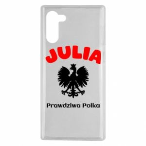 Phone case for Samsung A70 Julia is a real Pole - PrintSalon