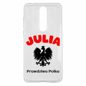 Phone case for Huawei Y5 2018 Julia is a real Pole - PrintSalon