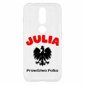 Phone case for Huawei Y6 2018 Julia is a real Pole - PrintSalon