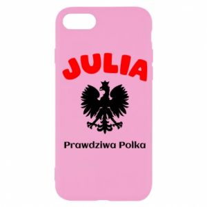 Phone case for Samsung A6 2018 Julia is a real Pole - PrintSalon