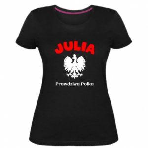 Damska premium koszulka Julia jest prawdziwą Polką
