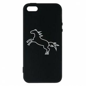 Etui na iPhone 5/5S/SE Jumping horse