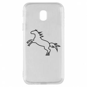 Etui na Samsung J3 2017 Jumping horse