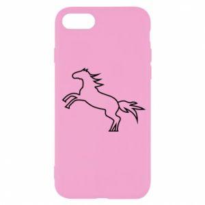 Etui na iPhone SE 2020 Jumping horse
