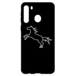 Etui na Samsung A21 Jumping horse