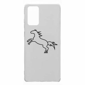 Etui na Samsung Note 20 Jumping horse