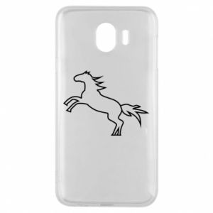 Etui na Samsung J4 Jumping horse