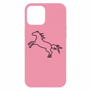 Etui na iPhone 12 Pro Max Jumping horse