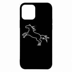 Etui na iPhone 12/12 Pro Jumping horse