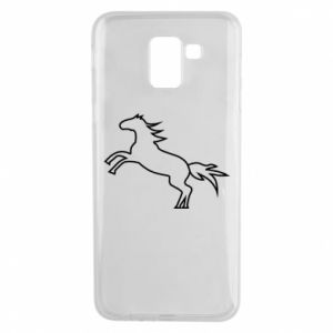Etui na Samsung J6 Jumping horse