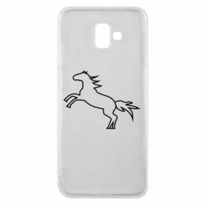 Etui na Samsung J6 Plus 2018 Jumping horse
