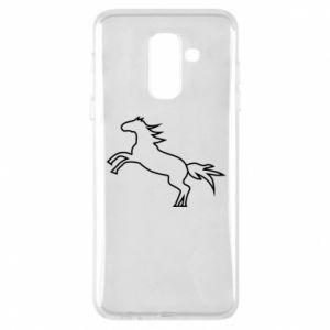 Etui na Samsung A6+ 2018 Jumping horse