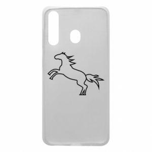 Etui na Samsung A60 Jumping horse