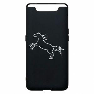 Etui na Samsung A80 Jumping horse