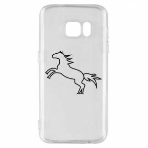 Etui na Samsung S7 Jumping horse