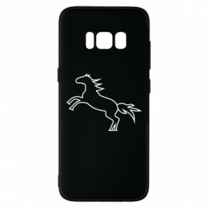 Etui na Samsung S8 Jumping horse