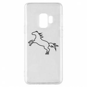 Etui na Samsung S9 Jumping horse