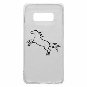 Etui na Samsung S10e Jumping horse