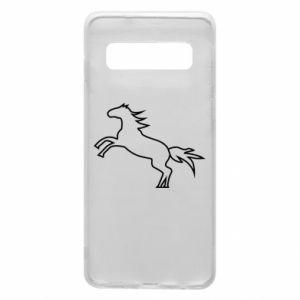 Etui na Samsung S10 Jumping horse
