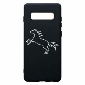 Etui na Samsung S10+ Jumping horse