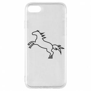Etui na iPhone 7 Jumping horse