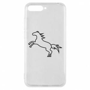 Etui na Huawei Y6 2018 Jumping horse