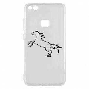 Etui na Huawei P10 Lite Jumping horse