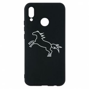 Etui na Huawei P20 Lite Jumping horse
