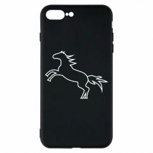 Etui do iPhone 7 Plus Jumping horse